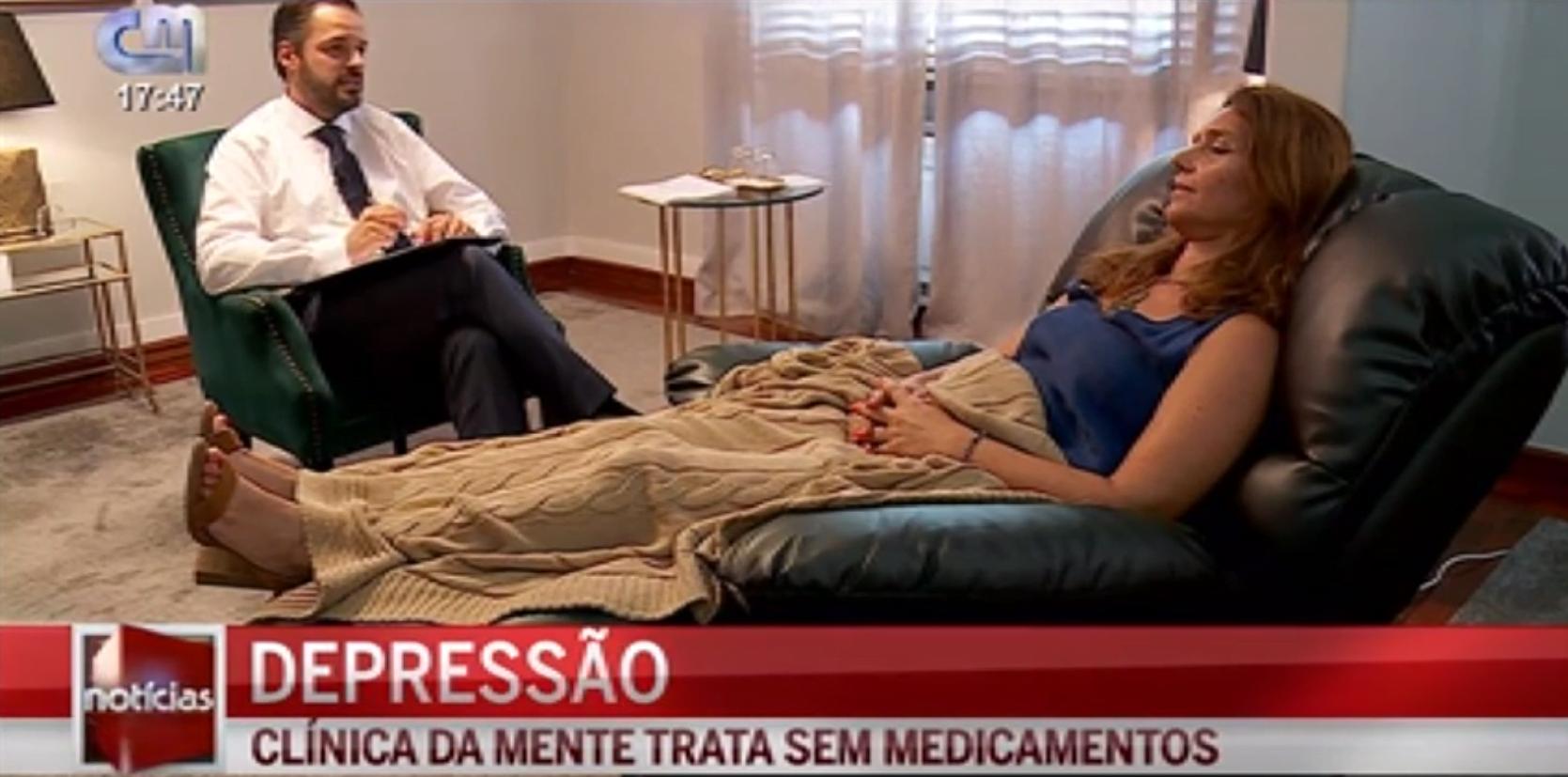 Clínica da Mente trata Depressão sem medicamentos | CMTV