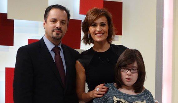 Pedro Brás com Fátima Lopes e Joana