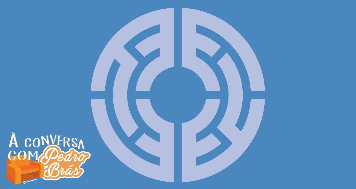 logotipo da Clínica da Mente ilustra explicação de Pedro Brás sobre o funcionamento da Clínica, preços, tratamentos