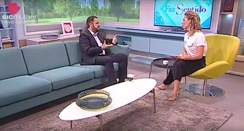 Pedro Brás conversa com Ana Rita Clara sobre Disfunção Erétil no programa Faz Sentido da SIC Mulher