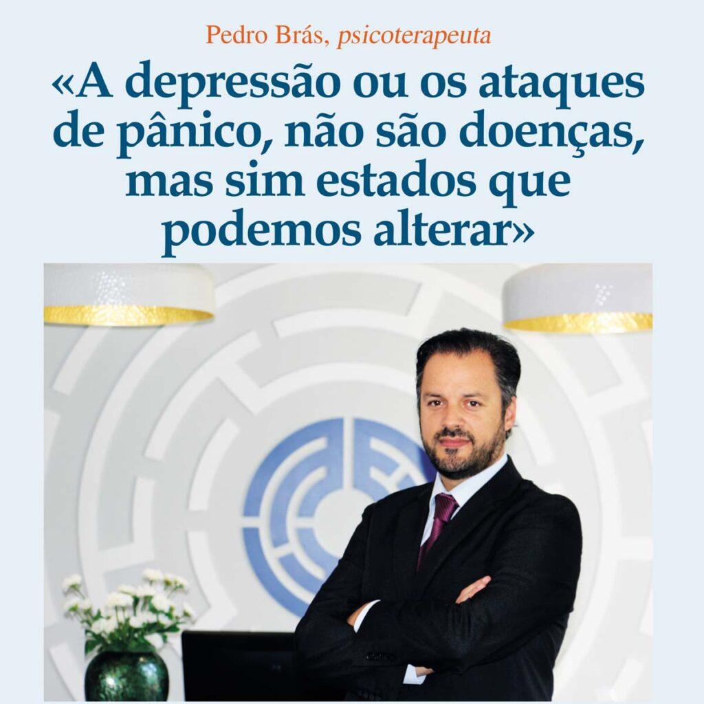 página da revista Zen, Pedro Brás em destaque