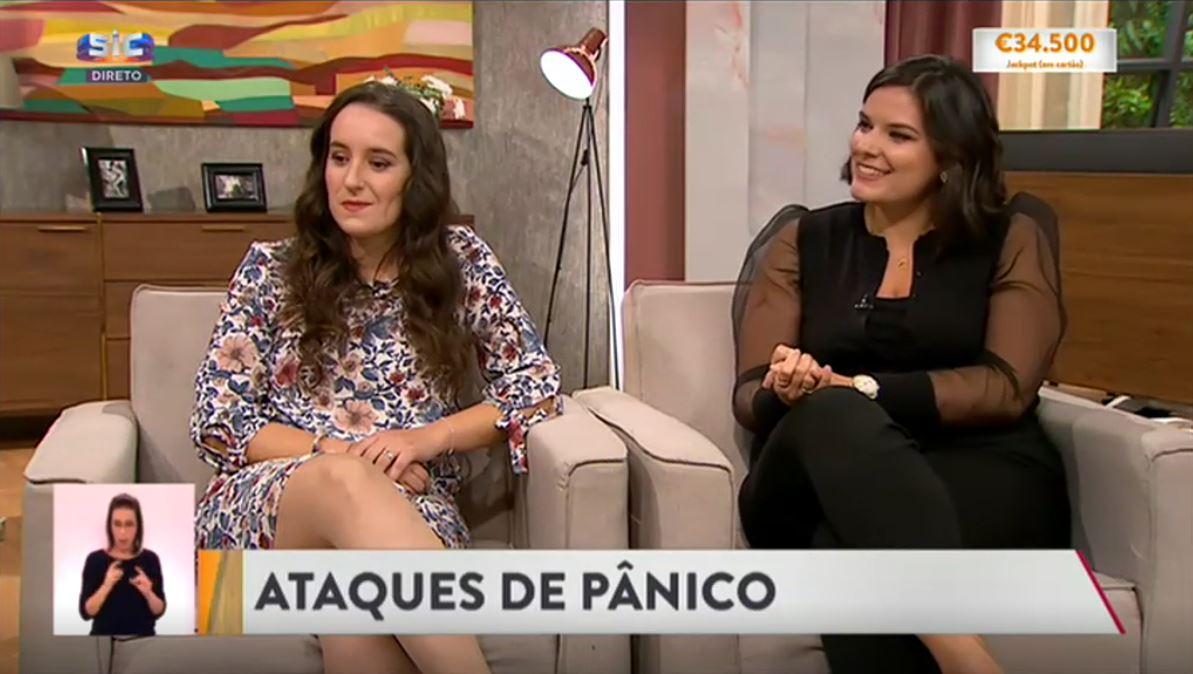 Dra Catarina Graça e paciente na Cristina