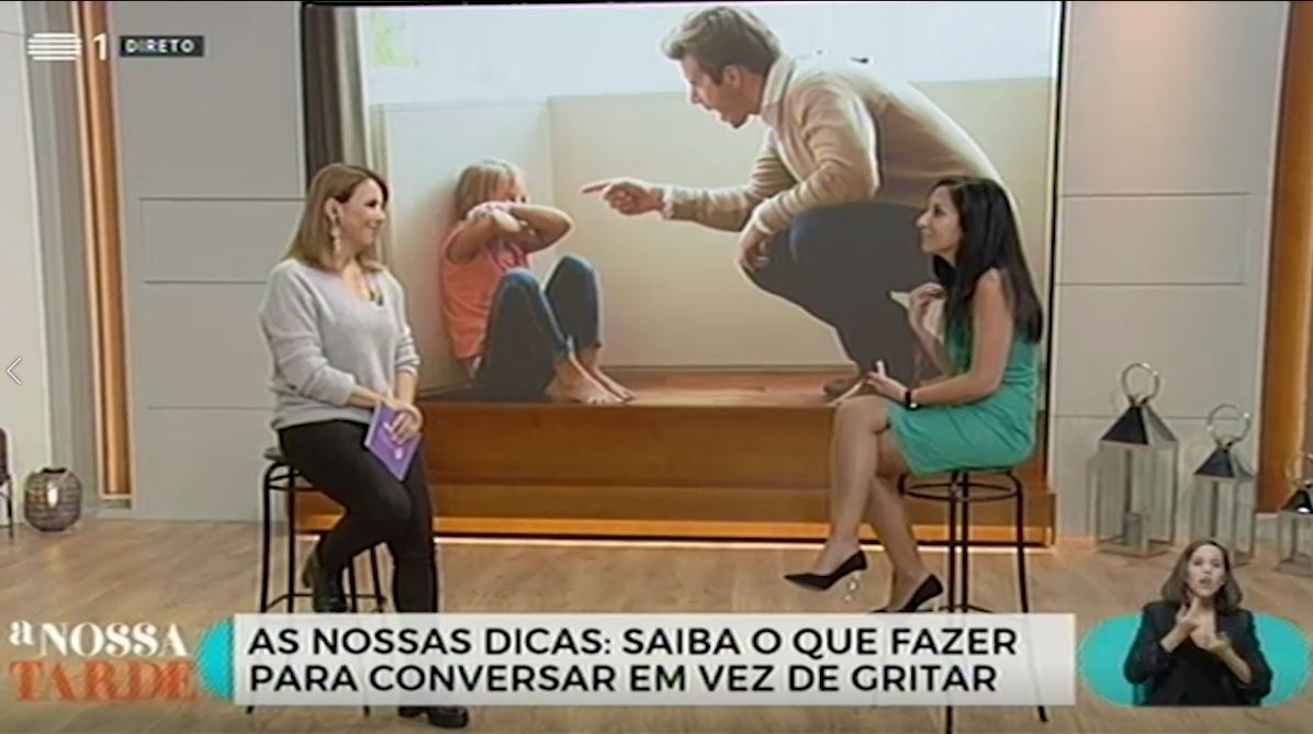 Dicas para não gritar com os seus filhos | RTP1